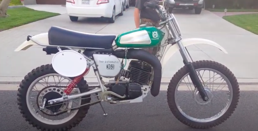 That Time Husqvarna Made Automatic Enduro Bikes