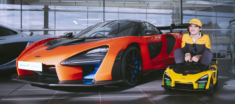 Ride-On Your Child Nostalgia With the McLaren Senna Electrified toy, Just £375