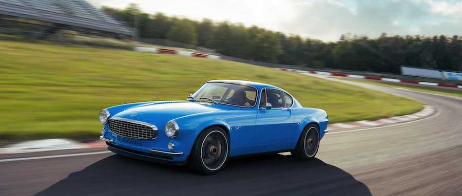 Iconic Volvo P1800 reborn as 414bhp continuation special
