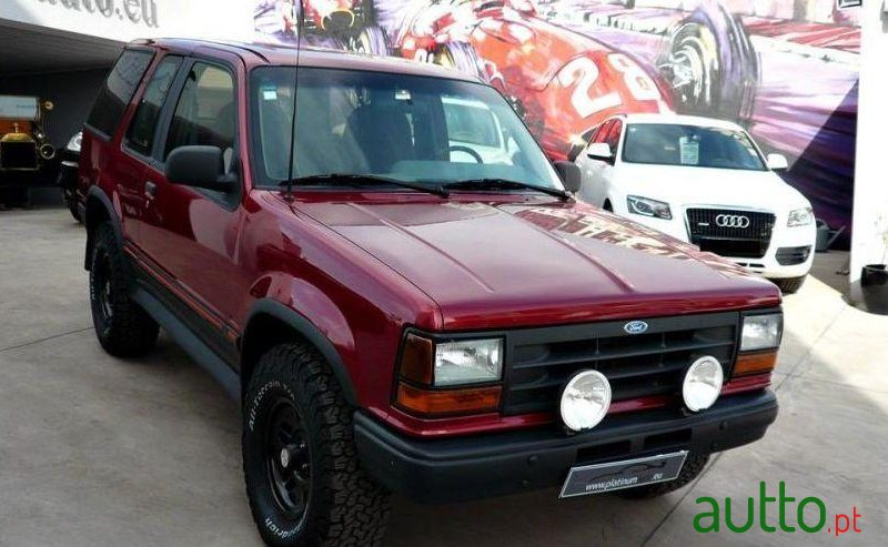 1993 39 ford explorer xlt sport 4 0 4x4 for sale 9 950 faro portugal. Black Bedroom Furniture Sets. Home Design Ideas