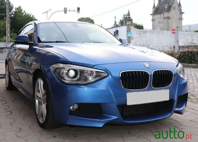 2013 BMW 120 in Viana do Castelo, Portugal - 2