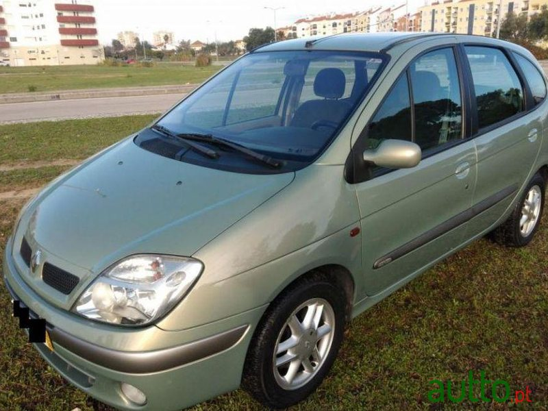 2002 39 renault scenic 1 9 dci conquest para venda 5 000 faro portugal. Black Bedroom Furniture Sets. Home Design Ideas