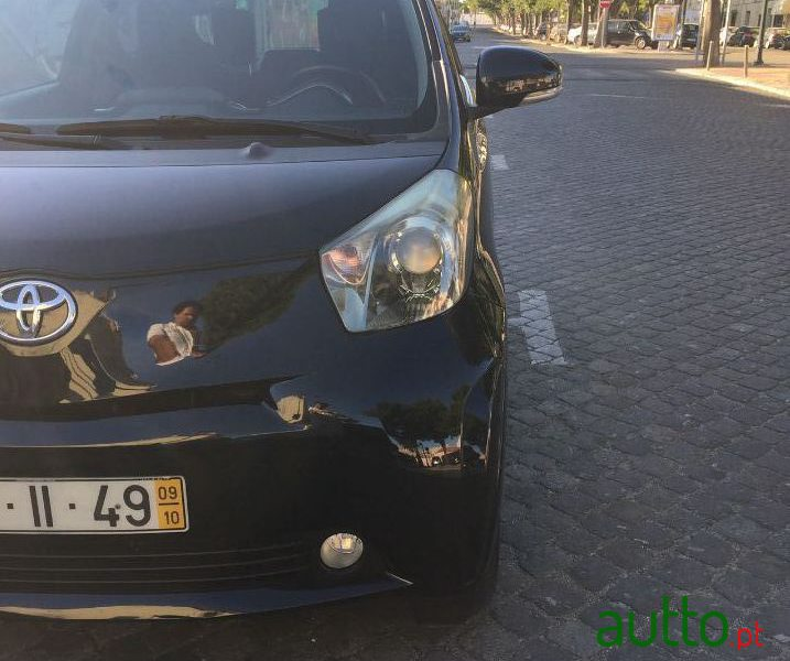 2009 Toyota IQ in Lisbon, Portugal - 2