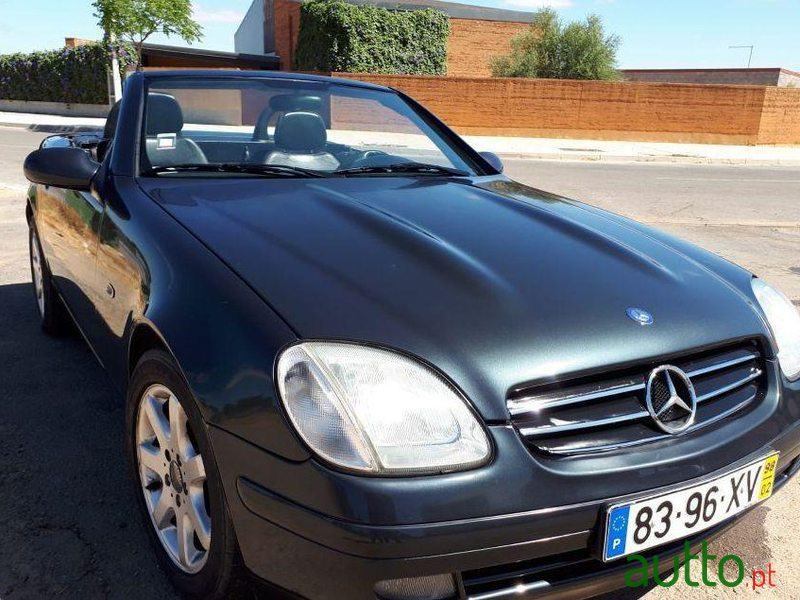 1998 Mercedes-Benz Slk-230 em Serpa, Portugal