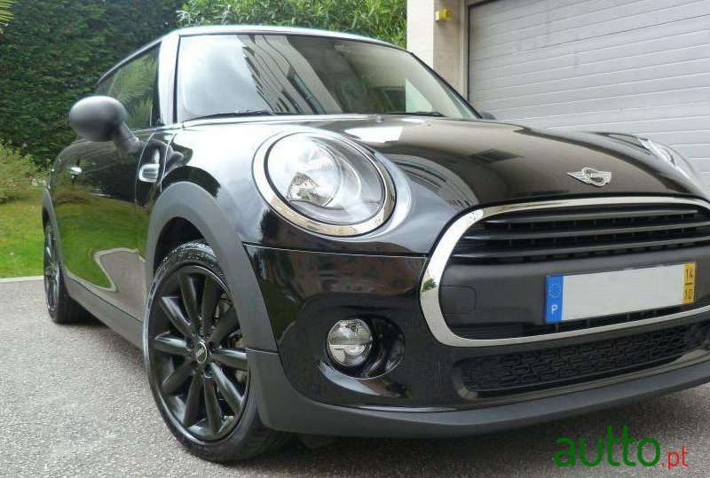 2014 Mini One em Vila Nova de Gaia, Portugal