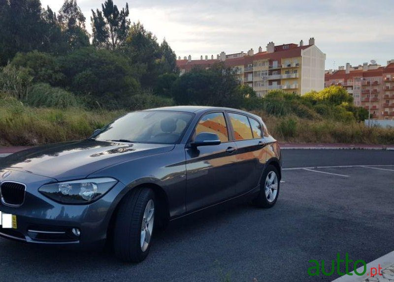 2014 BMW 116 in Sintra, Portugal