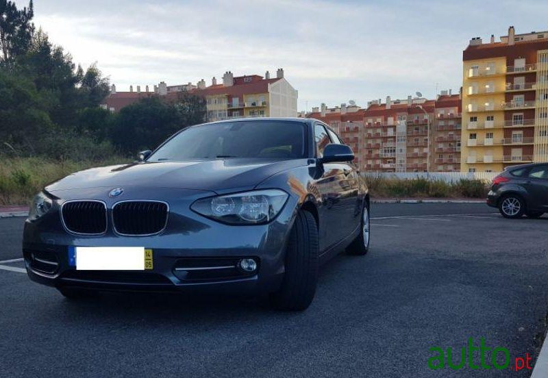 2014 BMW 116 in Sintra, Portugal - 2