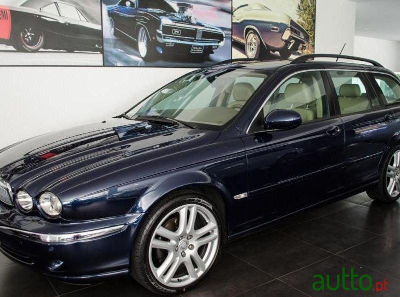 2006 Jaguar X Type Sw 2.2 D Sport In Porto, Portugal