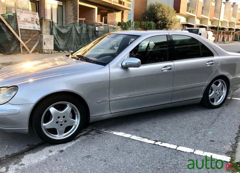 2001 Mercedes-Benz S-320 Ver-Cdi in Braga, Portugal - 2