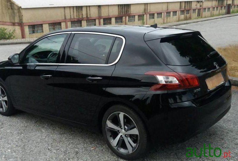 2014 39 peugeot 308 allure 120cv para venda 17 250 braga portugal. Black Bedroom Furniture Sets. Home Design Ideas