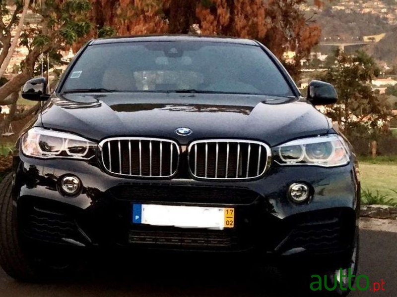 2017 BMW X6-M 40 D Xdrive Pack in Funchal, Portugal - 2