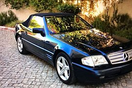 1995' Mercedes-Benz Sl-320