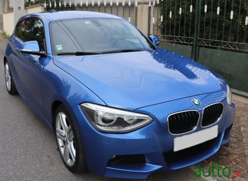2013 BMW 120 in Viana do Castelo, Portugal