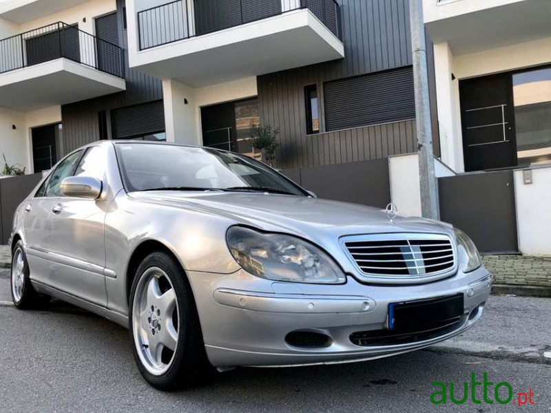 2001 Mercedes-Benz S-320 Ver-Cdi in Braga, Portugal - 4