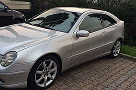 2001' Mercedes-Benz C-220 Spor Coupe