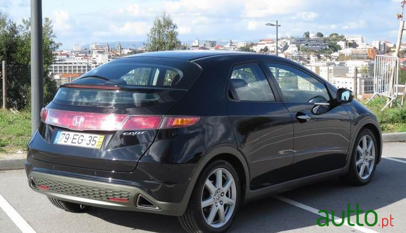 2007 Honda Civic in Braga, Portugal - 4