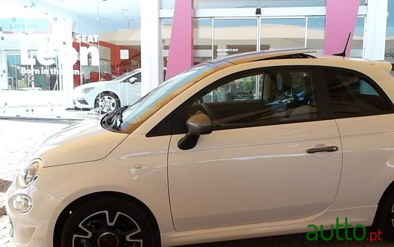 2019 Fiat 500 S in Mértola, Portugal - 2