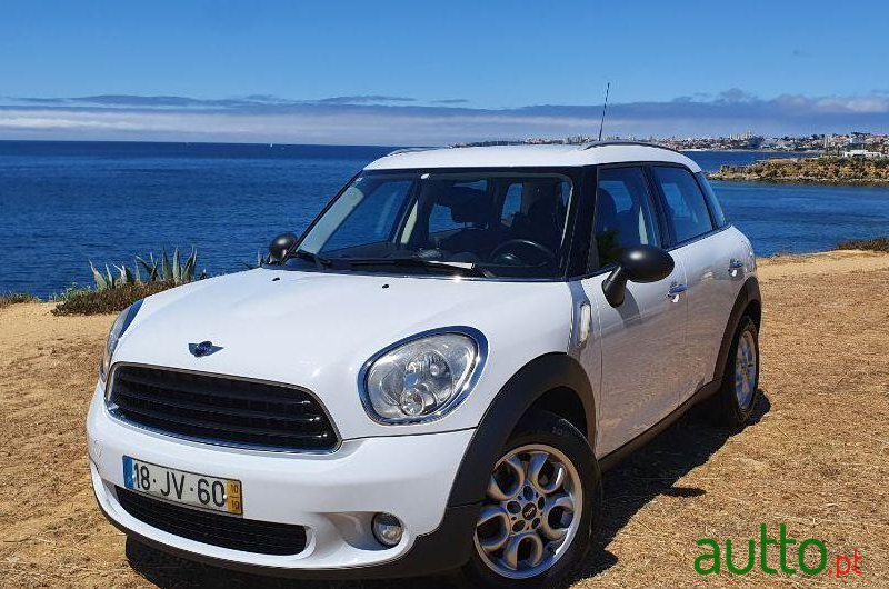 2010 Mini Countryman One D in Cascais, Portugal - 2