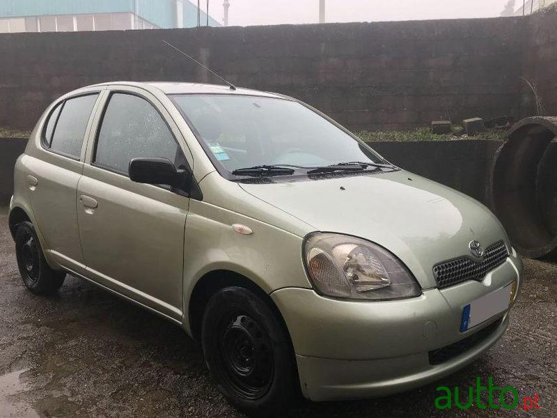 2002 39 toyota yaris d4d for sale 3 250 porto portugal. Black Bedroom Furniture Sets. Home Design Ideas