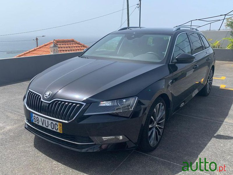 2018 Skoda Superb Break em Funchal, Portugal